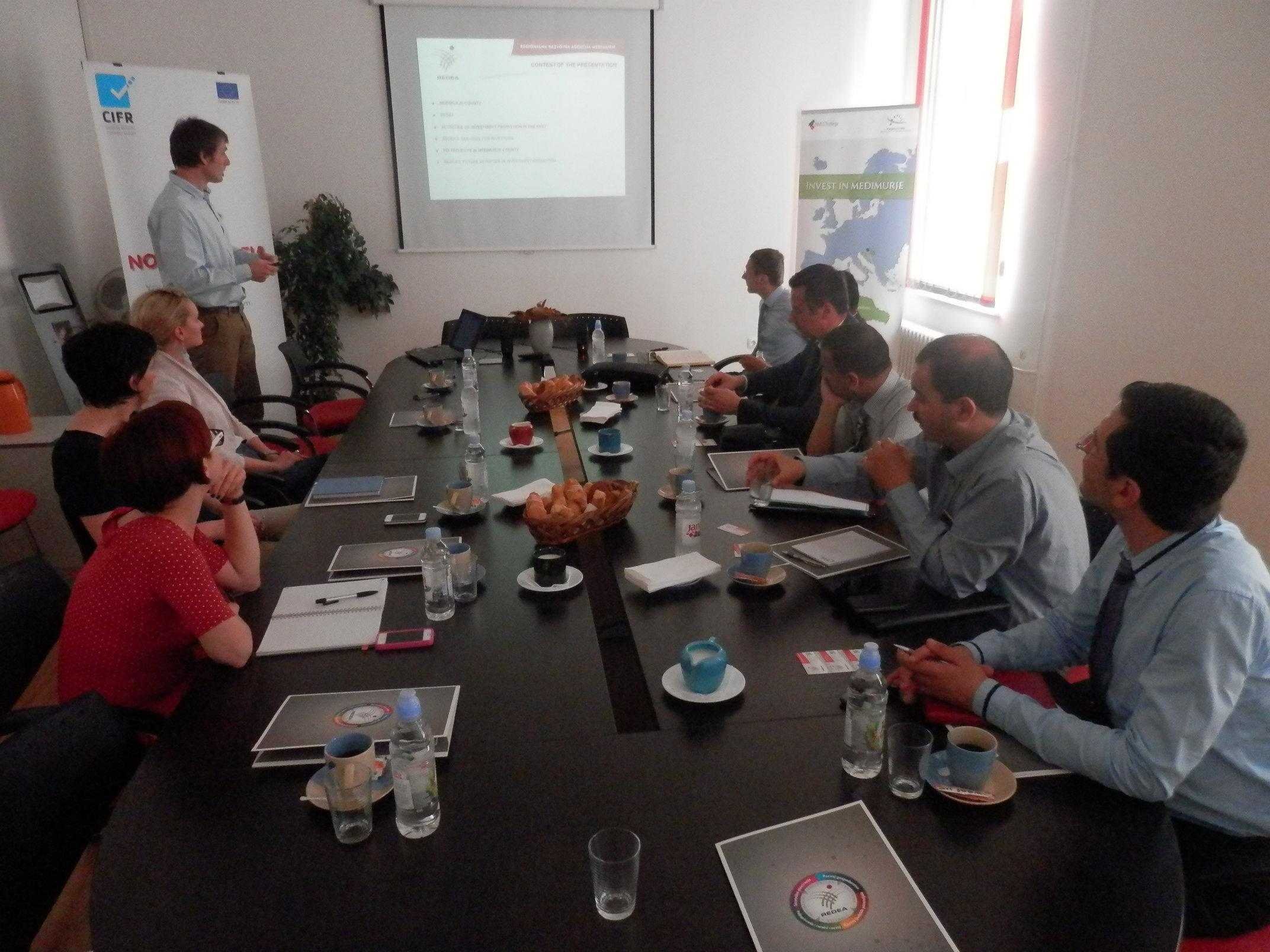 redea posjet tuniske delegacije